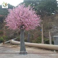 Wholesale UVG CHR140 china event supplier home decoration pink peach blossom fake trees for weddings from china suppliers