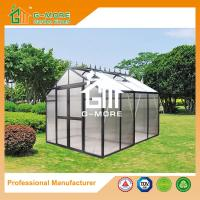 Wholesale 258X253X250CM Black Color Imperial Series Double Door Aluminum Greenhouse from china suppliers