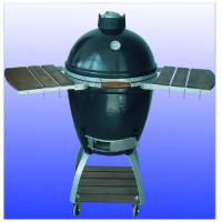Wholesale Barbecue Cookers, Ceramic Kamado Grill, Oval Big Green Egg COven For Outdoor bbq from china suppliers
