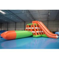 Wholesale 0.9mm PVC Tarpaulin Inflatable Water Sports /  Water Park Games With Blob from china suppliers