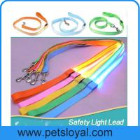 Wholesale LED lighted dog training leashes Night Safety Training Pet Lead Leashes china factory from china suppliers