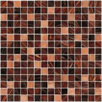 Wholesale Brown series with gold line glass mosaic mix pattern living room backspalsh from china suppliers