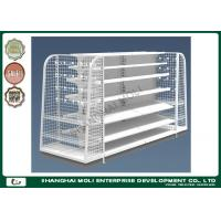 Wholesale Custom printed heavy duty supermarket display shelves , retail shelving displays from china suppliers