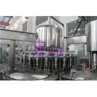 Wholesale Plastic Bottle Fresh Juice Filling Machine PLC Control With Touch Screen from china suppliers