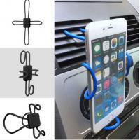 Wholesale Iphone 8 Flexible Diy Cross Shaped Vehicle Cell Phone Holder With Expandable Stand And Grid from china suppliers