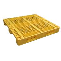 Wholesale Three Runner Single Faced Edge Stackable Plastic Euro Pallet Price from china suppliers