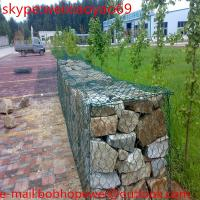 Buy cheap Galvanzied Welded Gabion / Wire Mesh Basket / Welded Gabion Mesh/hot dipped galvanized hexagonal wire mesh 2x1x1m gabion from wholesalers