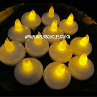Wholesale Battery Operated Romantic Floating Waterproof Tea lights , Submersible LED Tea Lights from china suppliers