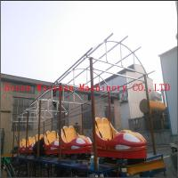 Wholesale kiddie car games outdoor funfair playground sliding dragon roller coaster rides without motor from china suppliers