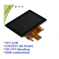 "Wholesale 5"" Touch screen panel and LCM and optical bonding for Industrial control device from china suppliers"