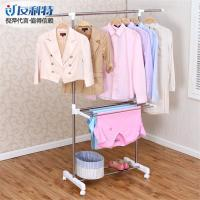 Wholesale Telescopic Free Standing Towel Rack , Retractable Metal Garment Drying Rack from china suppliers