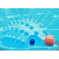 Wholesale Fiberglass Water Playground Equipment Hedgehog Spray Aqua Play Fun For Kids from china suppliers