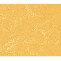 Wholesale Spring Yellow Flat / Eased Edge Quartz Kitchen Countertops with CE , ISO Certificate from china suppliers