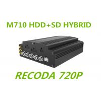Wholesale 720P resolution Linux HD Mobile DVR HYBRID H.264 Compression for truck Buses from china suppliers