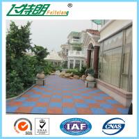Wholesale Eco - Friendly Protective Rubber Matting Anti Slip Flooring Gym Sport Rubber Tiles from china suppliers