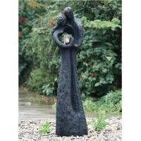 Wholesale Cozy Lover Large Outdoor Fountains , Resin Fiberglass Water Fountains 60 Inches from china suppliers