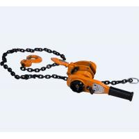 Wholesale Material Handling Equipment Lever hoist capacity 1.5T lifting 1.5m chain dia 6mm from china suppliers