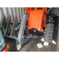 Wholesale wheel loader ZL12F with log grapple from china suppliers