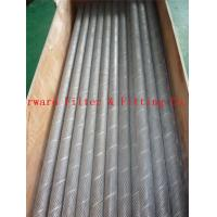 Wholesale Perforated Metal Mesh Tube / Stainless Steel Perforated Tube​ With Wire Cloth from china suppliers