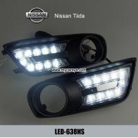 Wholesale Nissan Tiida DRL LED Daytime Running Light Car driving work day lights from china suppliers