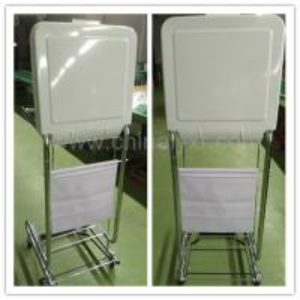 Wholesale Steel Frame Tilt-Lid Medical Hamper/medical hamper stand/LY-FS from china suppliers