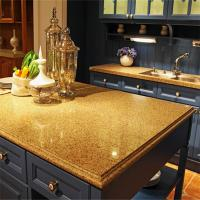 Buy cheap Artificial Quartz Stone,Various Colors Kitchen Countertop in Custom Design from wholesalers