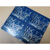 China Bicheng PCB Built On 24 Layer With Castellation Plated Edges and blue soldermask on sale