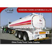 Wholesale 3 axles fuel tanker trailer 40000 liters fuel Tanker trailer gasoline transport truck trailer from china suppliers