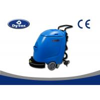 Quality Mini Floor Scrubber Dryer Machine With Power Lines , Concrete Floor Cleaning Machine for sale