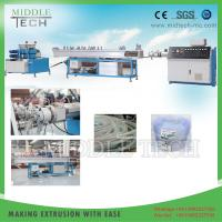 Wholesale Fiber Pvc Pipe Extrusion Machine , Reinforced Braided Plastic Pipe Making Machine from china suppliers