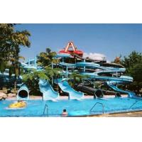 Wholesale Customized Giant Spiral Water Slide for Kids and Adults Spray Park Equipment from china suppliers