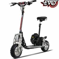 Buy cheap Evo 2x 50cc Gas Powered Scooter/ Powerboard w/2-stroke Engine, 2 Speed Transmission & Free Removable Seat from wholesalers