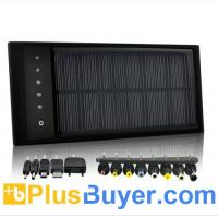 Wholesale High Capacity Solar Battery Charger (12,000mAh, 8 Adapters) from china suppliers