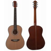 Wholesale 36inch 3/4 Size Spruce Sapele Back Wood Acoustic Guitar For Children / Kids AF3620 from china suppliers