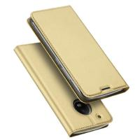 Wholesale Slim PU + TPU Leather Phone Cases with stand for Moto G5 , Rose Gold Blue from china suppliers