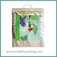 Wholesale Aluminium Foil Thermal Cooler Bag with Plastic Handle Isothermal cooler bag from china suppliers