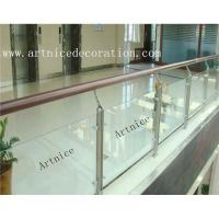 Wholesale Tempered / toughened glass for porch railing, porch  fence, porch balusrtade, veranda fence, veranda balustrades from china suppliers