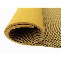 Wholesale Textured Natural Rubber Yoga Mat With Mesh Fabric, Non-Slip from china suppliers