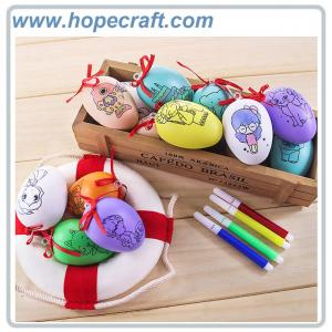 China Mixed colors Oval Egg shape Easter eggs Gachapon Eggs surprise eggs Gacha Ball can be filled with small toys on sale