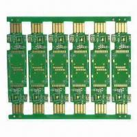 Buy cheap Double-sided PCB, Made of FR4 Material with Chemical Gold Surface Treatment for USB from wholesalers