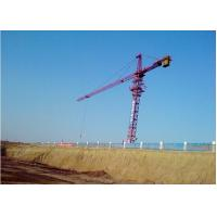 Wholesale 16ton Potain Tower Crane / Luffing Crane 7034 Stationary Attached with Self-climbing Cage & Pump from china suppliers