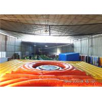 Wholesale Outdoor Games Inflatable Bossaball Court Volleyball Court With Digital Printing from china suppliers