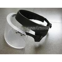 Wholesale Level 3A Ballistic Protection Helmet Face Shield Threat  for 9mm 124 grain, FMJ rounds from china suppliers
