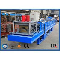 Wholesale Automatic Metal Tile Roof Ridge Cap Roll Forming Machine PLC control from china suppliers