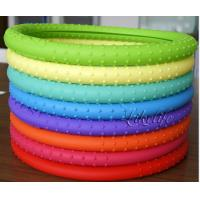 Wholesale Car Accessories Silicone Steering Wheel Cover Weather Resistant With Customized Tooling from china suppliers