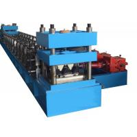 Wholesale PLC GuardRail Roll Forming Machine With GCR15 Bearing Steel For Highways from china suppliers