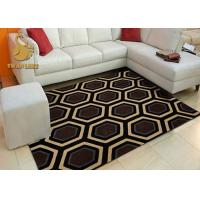 Wholesale Customized Length Living Room Floor Rugs Sound Reduction 3D Printed Techniques from china suppliers