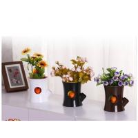 Wholesale Fancy cute abs decorative planters/christmas decor flower pot GK- A-003 from china suppliers