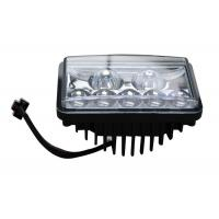 Wholesale Square Bus / truck / Tank Automotive LED Headlights IP66 ,  7pcs Osram LEDs from china suppliers
