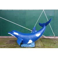 Wholesale Artificial Fiberglass Whale High Durability With Excellent Anti Fading Ability from china suppliers